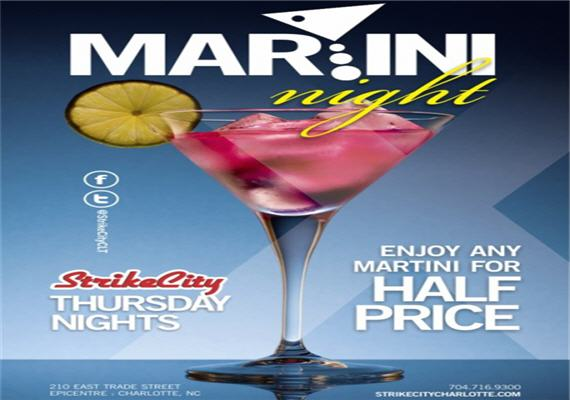 Martini Madness @ StrikeCity