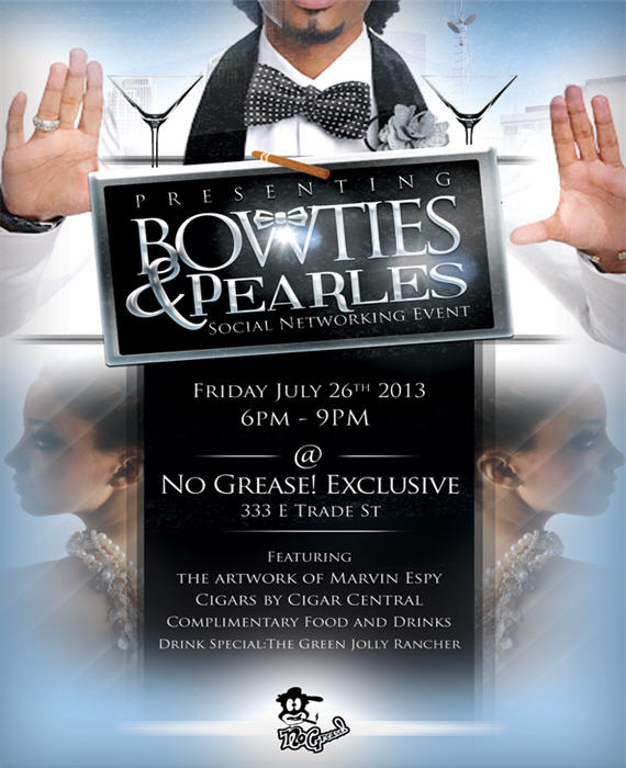 Bow Ties Amp Pearls July 26th Charlottehappening Com