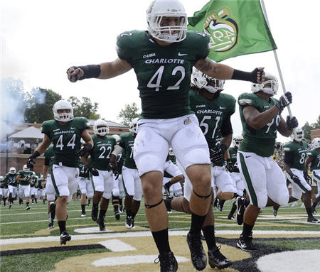 Charlotte 49ers Kickoff Football Era With Blowout Victory