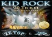 Kid Rock ZZ Top Uncle Kracker Charlotte