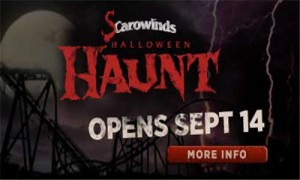SCarowinds 2013 Opens Sept 14th