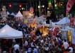 2013 Q-City Charlotte BBQ Festival Crowd Shot