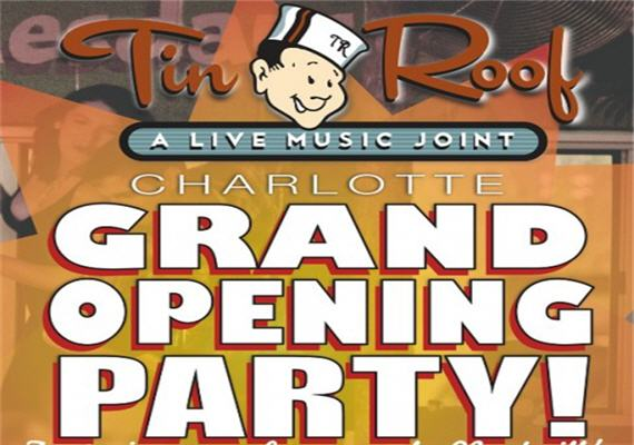 Wonderful Send Inquiry For Tin Roof Grand Opening Party