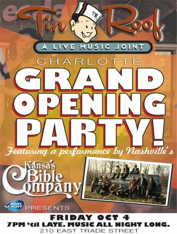 Exceptional Tin Roof Charlotte Grand Opening