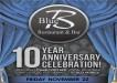 Blue Restaurant 10 Year Anniversary Celebration 570x400