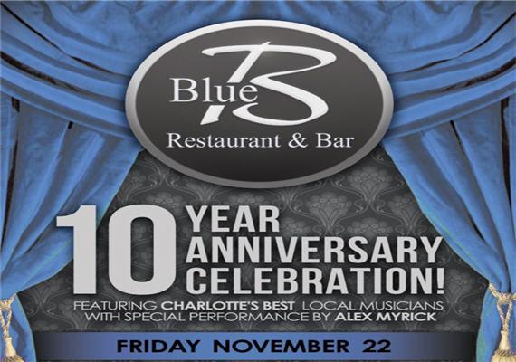 Send Inquiry For Blue Restaurant 10 Year Anniversary Celebration