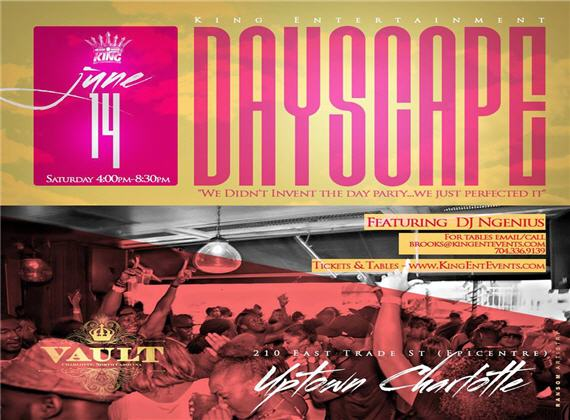 "DAYSCAPE ""The Summer Series"" @ Vault (EpiCentre)"