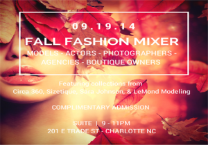 CLT Models Industry Mixer Sept 2014
