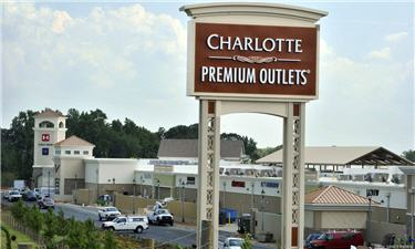 Charlotte Premium Outlets Now Open