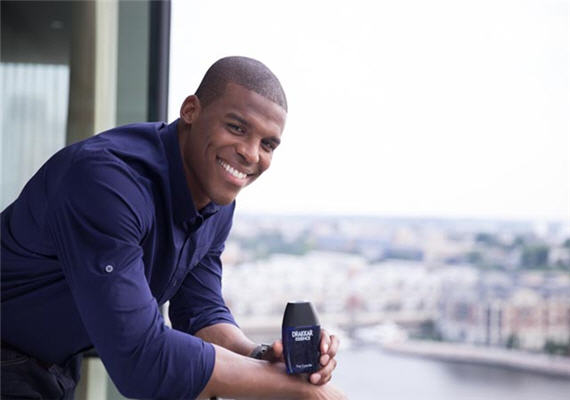 Meet NFL Quarterback Cam Newton, Face Of The New Men's Fragrance Drakkar Essence
