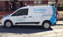 Google FIber Charlotte Car