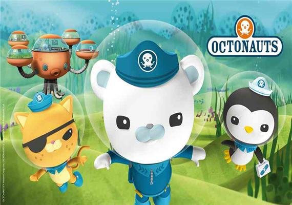 Meet The Octonauts at SEA LIFE Charlotte-Concord Aquarium