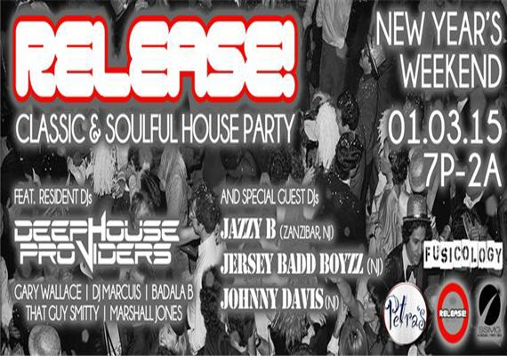 Release classic soulful house party jan 3rd for Soulful house classics