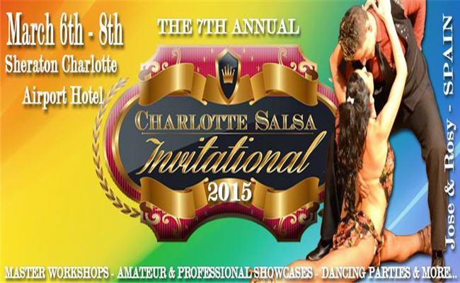 "7th Annual ""Charlotte Salsa Invitational"""