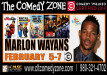 Marlon Wayans The Comedy Zone Charlotte Feb 2015