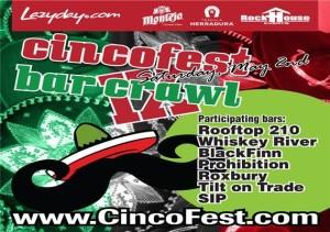 Cincofest Bar Crawl 2015