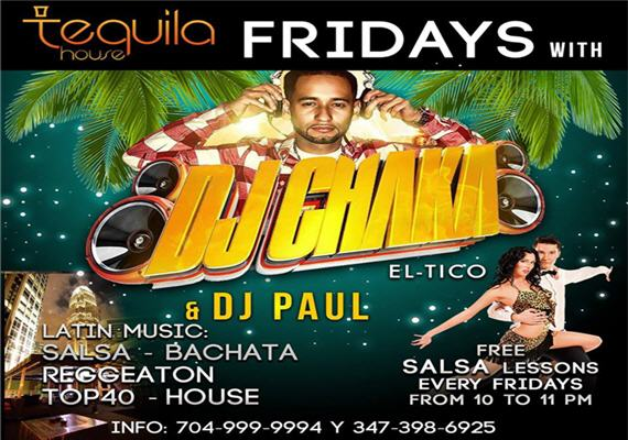 Latin Fridays @Tequila House