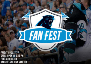 Carolina Panthers Fan Fest 2015