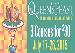 Charlotte Restaurant Week July 2015