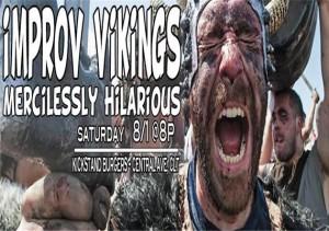 Improv Vikings Comedy Invasion