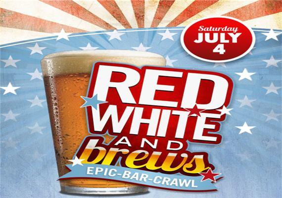 Red, White & Brew Bar Crawl 2015
