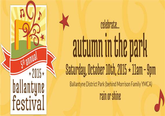Ballantyne Festival: Autumn in the Park