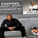 An Evening Of Classic Soul Lenny Williams Ann Nesby