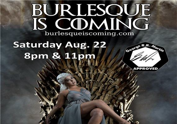 Burlesque is Coming… to Upstage