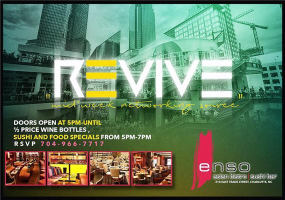 Revive: Mid-Week Networking Soiree – Wednesday
