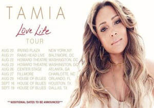 Tamia Love Life Tour Charlotte 2015