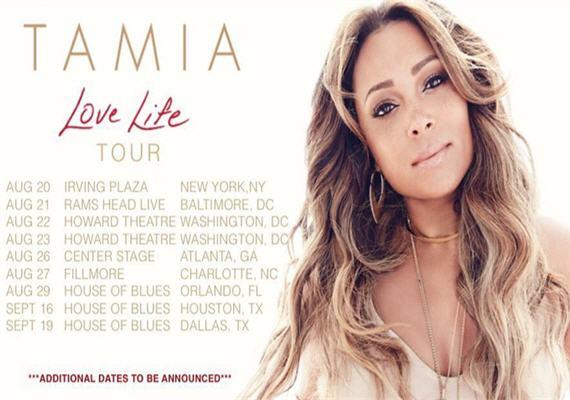 Tamia LIVE In Concert @ The Fillmore Charlotte