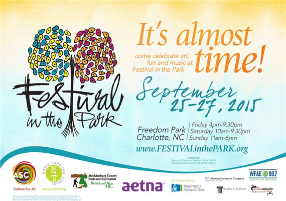 2015 Festival In The Park – Sept 25th – 27th