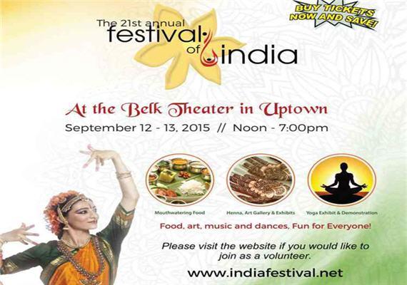 2015 Festival of India – Charlotte