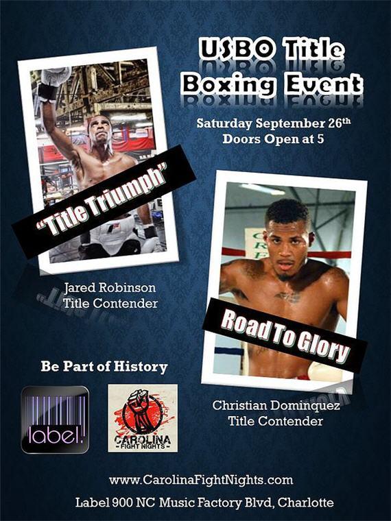 Carolina Fight Nights Presents USBO Title Fight