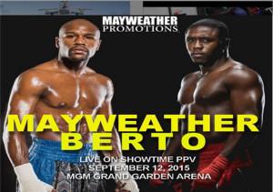 Mayweather vs Berto Fight Parties Charlotte