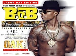 Oak Room and OMG Charlotte Present BOB Album Release Party