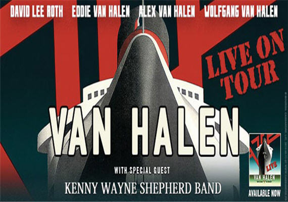 Van Halen 2015 Tour – Charlotte