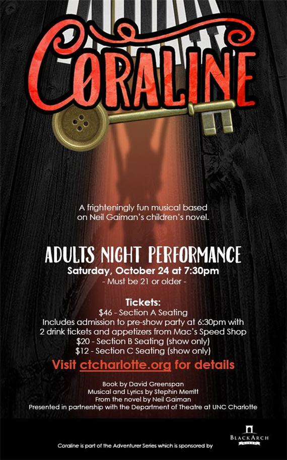 Adults Night at CORALINE