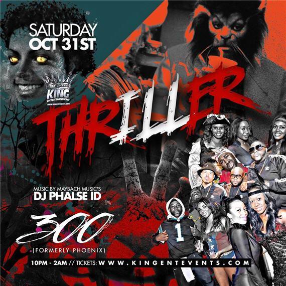 Thriller Halloween @ Club 300