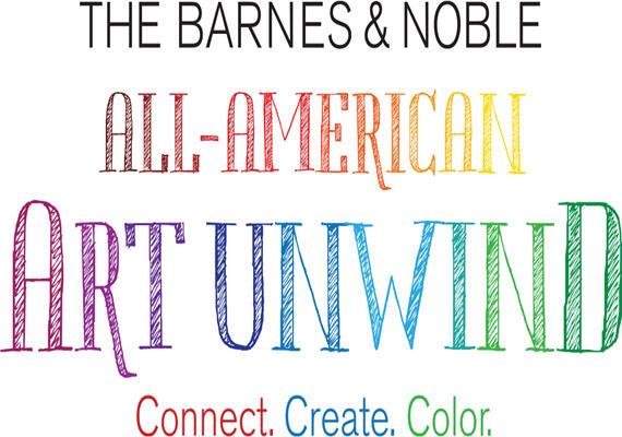 Barnes Noble All-American Art Unwind Banner