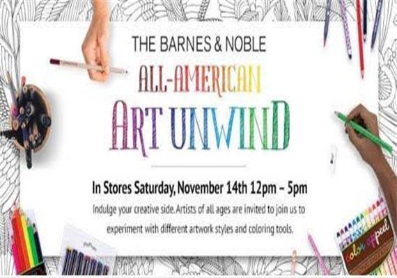 Barnes Noble All-American Art Unwind