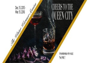 Cheers to the Queen City Winter Warmer Cocktail Tour Banner