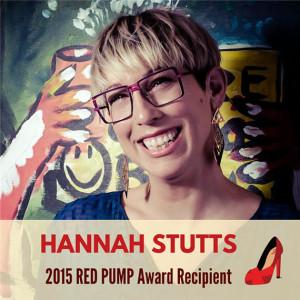 Hannah Stutts 2015 Red Pump Award Recipient