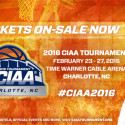 2016 CIAA Tournament Tix On Sale Now