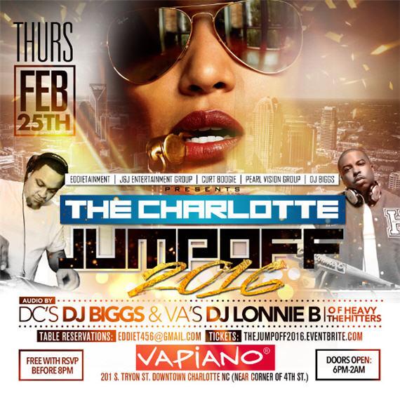 The Charlotte Jumpoff 2016