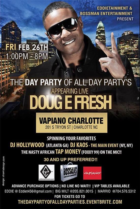 The Day Party Of All Day Parties Doug E Fresh