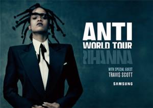 Rihanna ANTI World Tour Charlotte