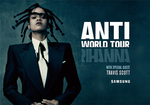 Rihanna ANTI World Tour – Charlotte – March 20th