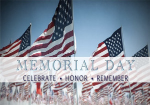 2016 Memorial Day Weekend Events