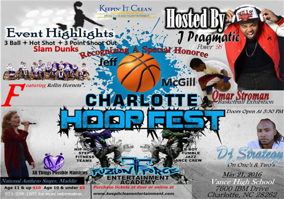 Charlotte Hoop Fest 2016 570X400